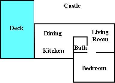 Castle Blue print